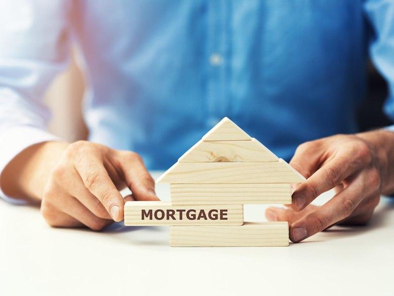 Mortgage transfer concept.