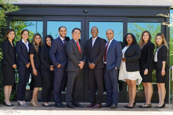The legal team at Kundani Chang Khinda Wilson.
